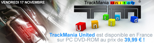 Sortie officiel Trackmania United