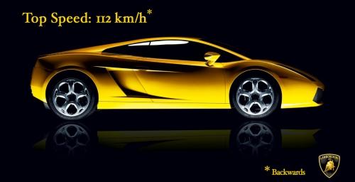 Publicite Lamborghini